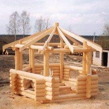 проекты деревянных беседок