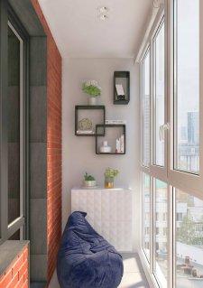 дизайн балкона ялта