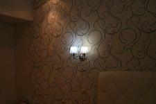 установили подвесные светильники (бра)