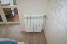 установили радиатор во вторую спальню