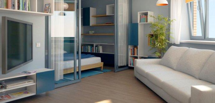 расстановка мебели в маленькой квартире