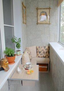 дизайн балкона малогабаритки